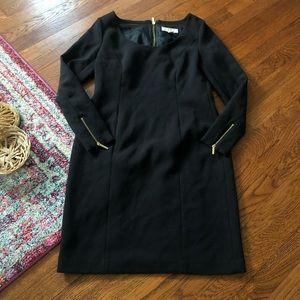 Michael Michael kors black long sleeve dress